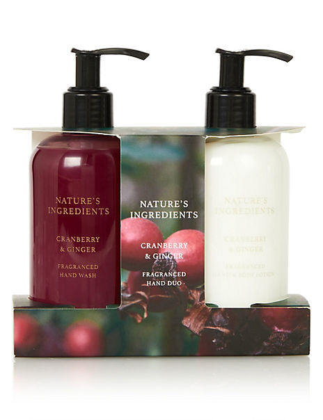 Cranberry & Ginger Hand Wash Duo