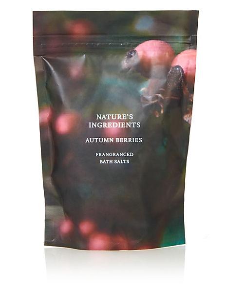Autumn Berries Bath Salts