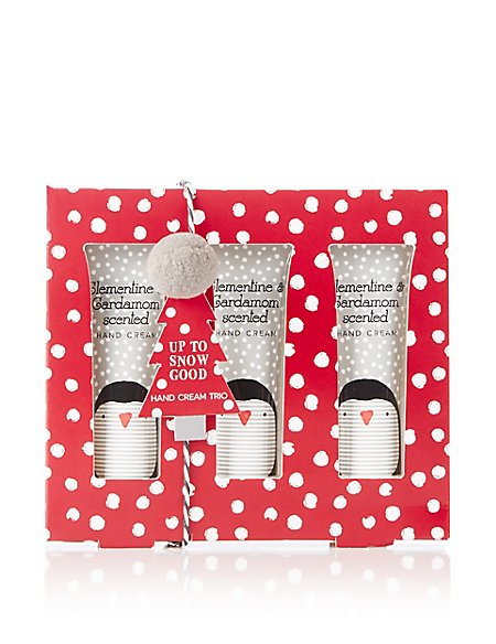 Up To Snow Good Hand Cream Trio