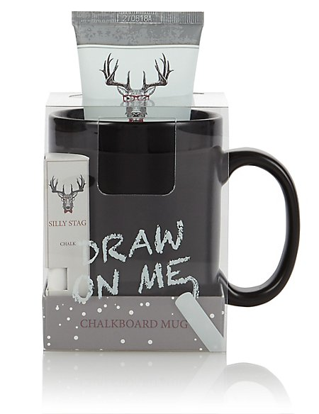 Silly Stag Chalk Mug 75ml