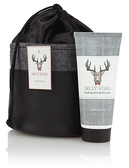 Silly Stag Washbag