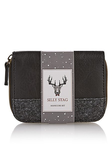 Silly Stag Manicure Set