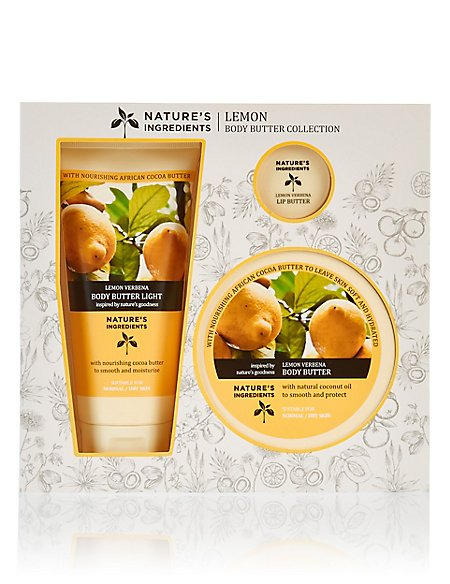 Lemon Body Butter Collection
