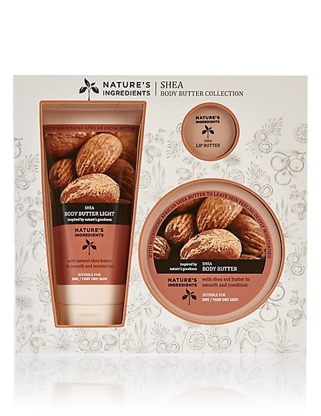 Shea Body Butter Collection