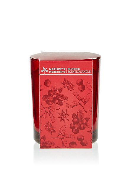 Cranberry Candle 170g