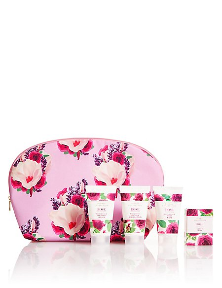 Rose Weekender Bag Gift Set
