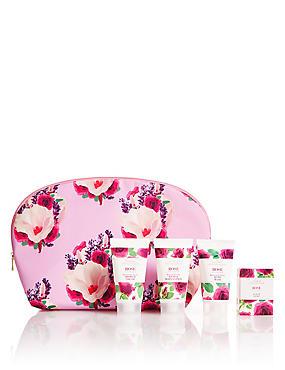 Rose Weekender Bag Gift Set