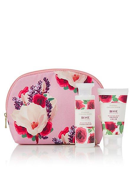 Rose Cosmetic Purse