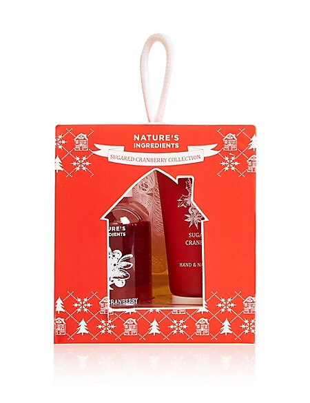 Sugared Cranberry Gift Set