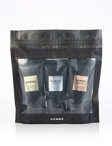 Shower Gel Trio Gift Set