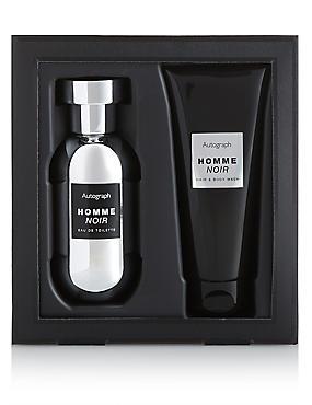 Homme Noir Gift Set