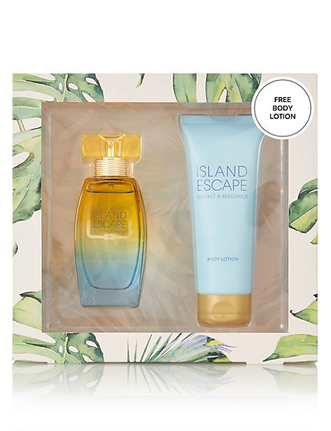 Island Escape Fragrance & Lotion Gift Set