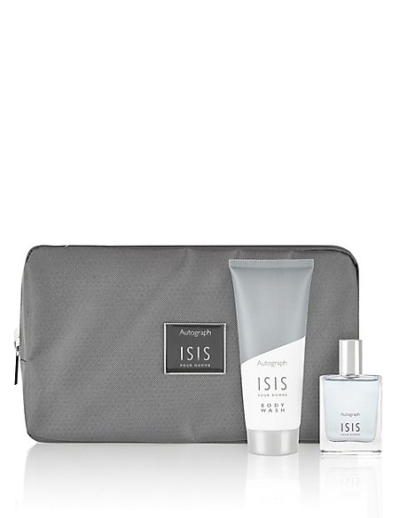 Isis Wash Bag Gift Set