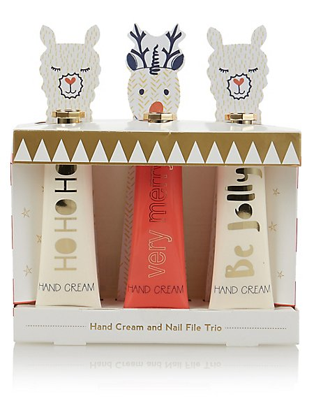 Christmas Novelty Hand Cream Trio