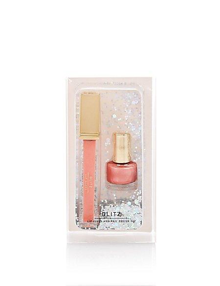 Lip Gloss & Nail Polish Set