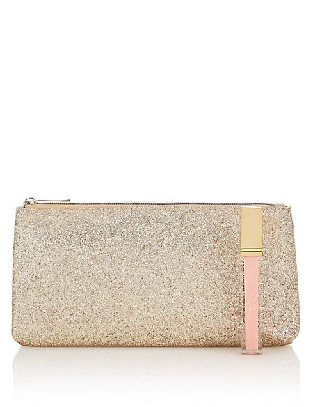 Glitz Cosmetic purse with Lip Gloss 7ml