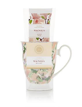 Magnolia Mug Set Gift