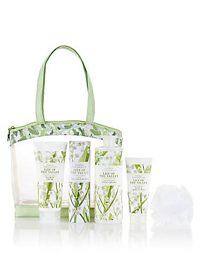 Lily of the Valley Toiletry Bag