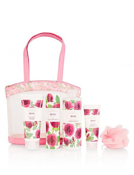 Rose Toiletry Bag