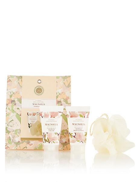 Magnolia Shower Trio Gift