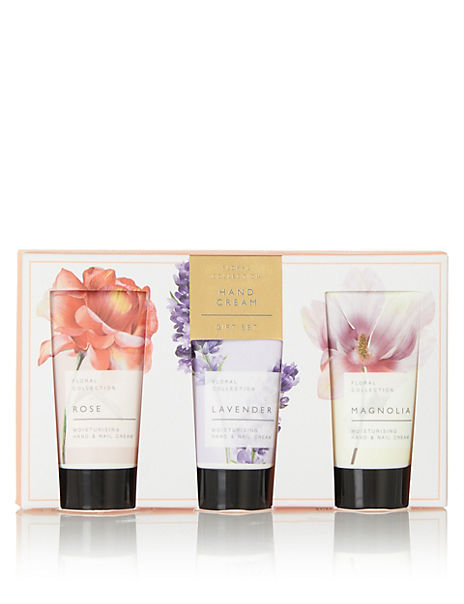Floral Collection Hand & Nail Cream Set