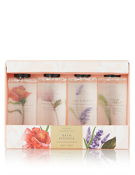 Mixed Floral Fragrances Bath Essence Set
