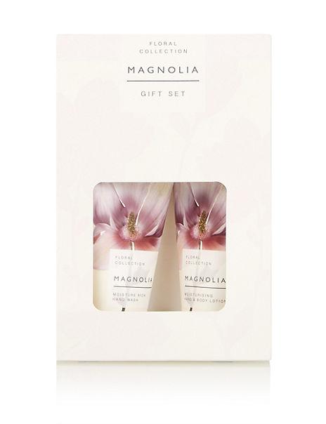 Floral Magnolia Gift Set