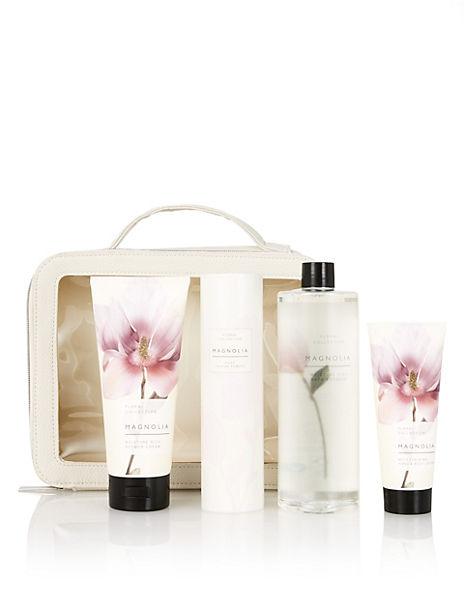 Magnolia Toiletry Bag Gift Set