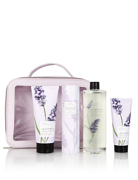 Lavender Toiletry Bag Gift Set