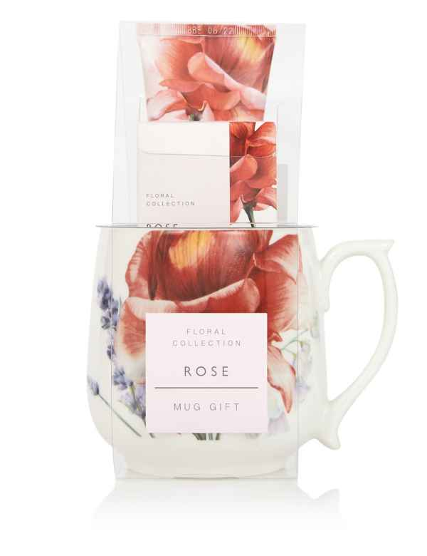 p60290631: Rose Mug Gift Set