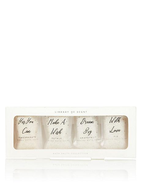 Library of Scent Bath Salt Set