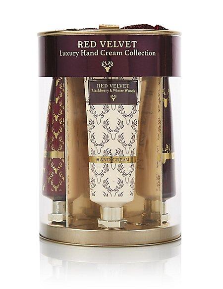 Red Velvet Hand Cream Set