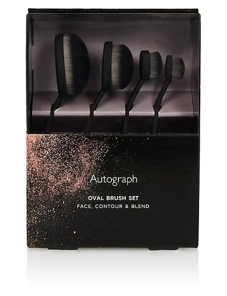 Contour & Blend Oval Brush Set 242g