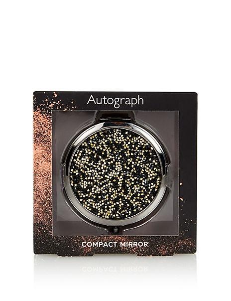 Sparkle Compact Mirror