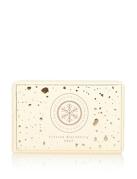 Red Luxe Frosted Blackberry Soap Bar 200g