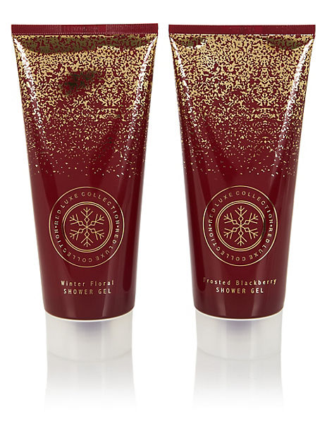Red Luxe Collection Shower Gel