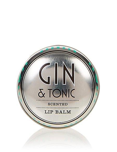 Gin & Tonic Scented Lip Balm 12g