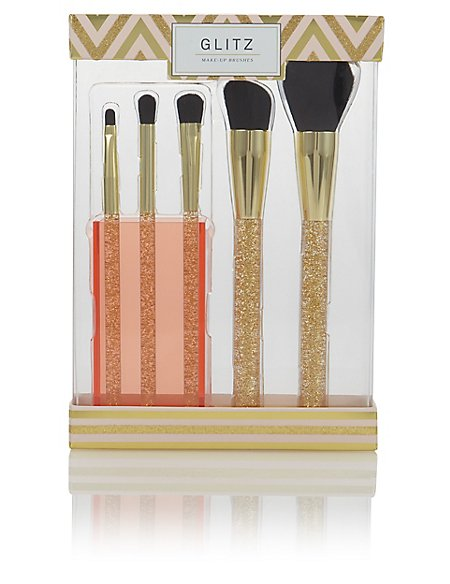Gift Make-Up Brushes with Pot