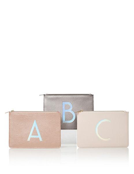 Alphabet Make Up Bag