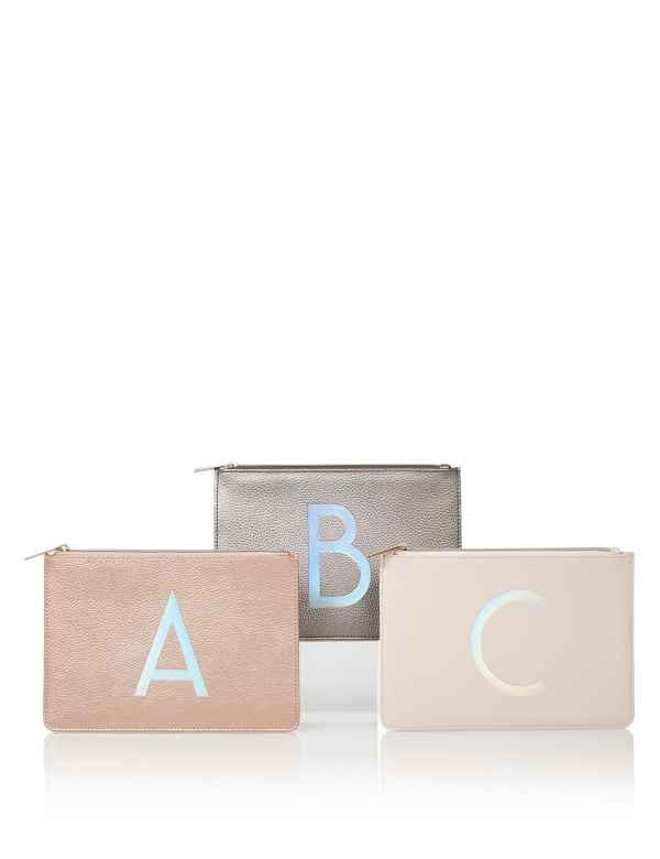 Alphabet Make Up Pouch M S Collection