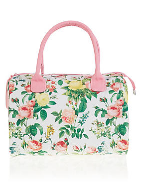 Bloom Floral Weekender Cosmetic Bag