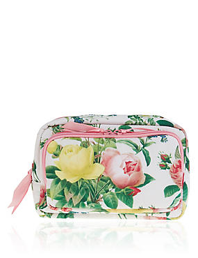 Bloom Floral Make Up Bag