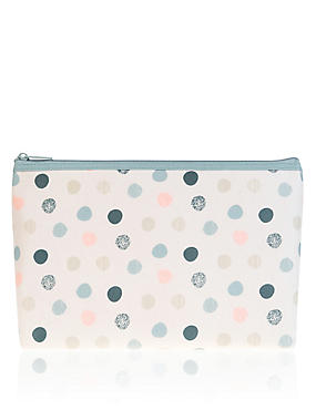 Large Spot Washbag