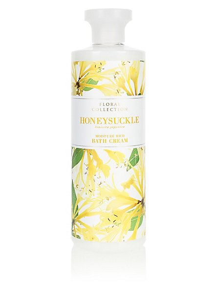 Honeysuckle Bath Cream 500ml