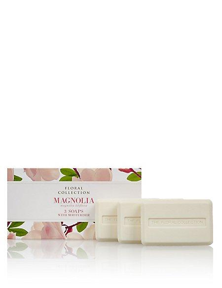 Magnolia Trio of Soaps