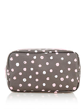 Geo Design Makeup Bag