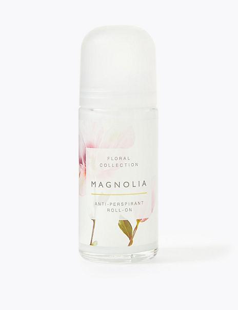 Magnolia Roll on Deodorant 50ml