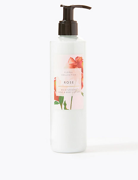 Rose Hand & Body Lotion 250ml