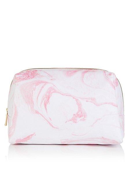 Marble Print Wash Bag