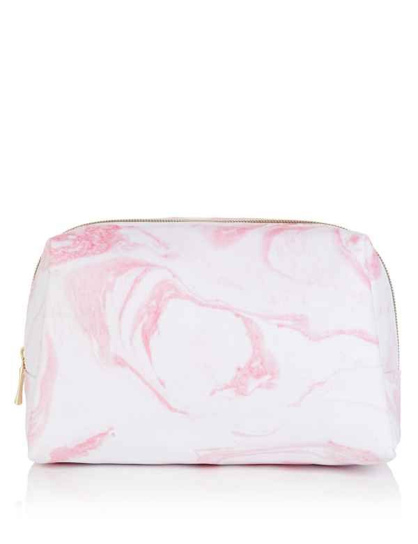 fcbc8ff08c Marble Print Wash Bag
